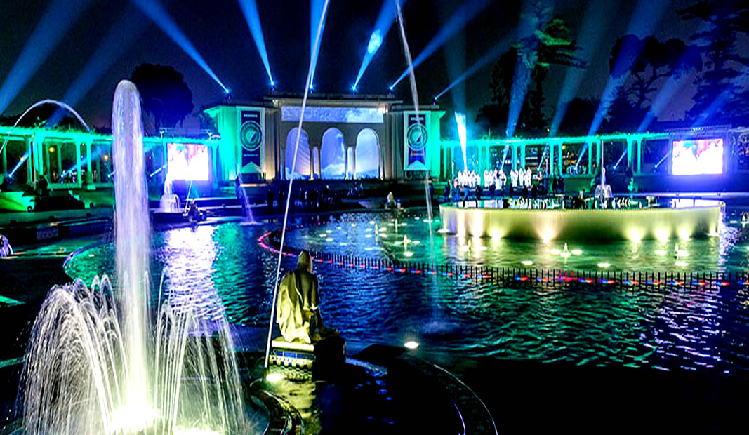 Circuito Magico Del Agua : ° aniversario del circuito mágico del agua y feria gastronómica